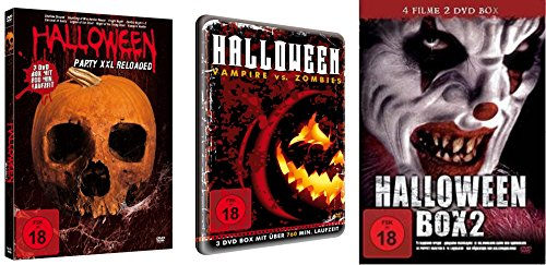 20 Halloween (20 Horrorfilme HALLOWEEN Box Collection PUPPET MASTER * VAN HELSING * HAUNTING OF WINCHESTER HOUSE * FRIGHT NIGHT .. Splatter Zombies Vampire & Dämonen Kult & Klassiker DVD)
