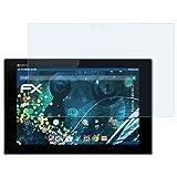 2 x atFoliX Antichoque Película Protectora Sony Xperia Tablet Z Protector Película - FX-Shoc...