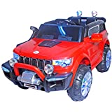 Toy House XUV 7000 Rechargeable Battery Operated Ride-on Car For Kids (Red, 3 To 6 Years)