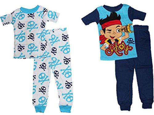 Disney Jake und die Neverland Piraten Little Boys 2-Pack Pyjamas ()