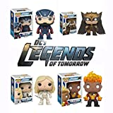 Pop! TV: DC\'s Legends of Tomorrow - The Atom, Hawkman, White Canary, and Firestorm Vinyl Figures! Set of 4 by Legends of Tomorrow