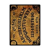 Eureya Flannel Throw Blanket Super soft and Cozy Blanket Perfect for Couch Sofa or Bed(Large) (The Ouija)