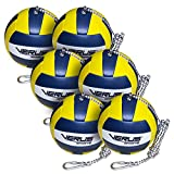 Verus Sports TO600-BALL-6 6 Replacement Tetherballs Ball with Heavy Duty Rope & Clip