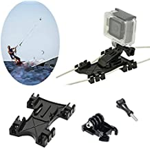 Kitesurf Kite Line Mount, williamcr Kiteboarding línea Holder adaptador adaptable para GoPro Cámara Accesorios Hero5 negro Hero HD Hero 4 Hero 3 +