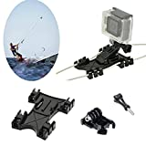 kitesurf Kite Line Mount, Williamcr Kiteboarding linea Holder Adaptive adattatore per fotocamera GoPro accessori HERO5nero Hero HD Hero 4/Hero 3+