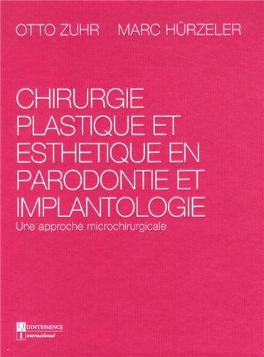Chirurgie plastique et esthétique en parodontie et implantologie : Une approche microchirurgicale