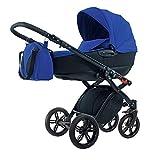 Produkt-Bild: knorr-baby 35888-5 Kombikinderwagen Alive Tief, dunkelblau