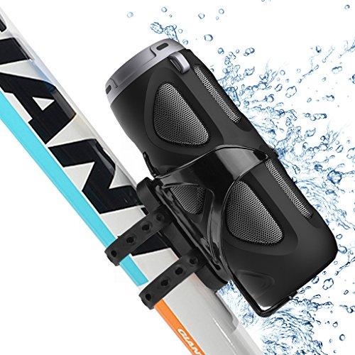 Avantree Altoparlante Bici Bluetooth Bicicletta Impermeabile Wireless Senza Fili per Uso Esterno, Portatile da 10W, con Supporto per Bike, Sound eccellente, supporta le memorie SD e TF. Dotato di NFC- Cyclone