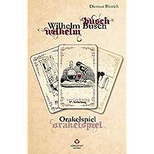 Wilhelm Busch Orakel: Orakelspiel. Set mit Buch und Karten