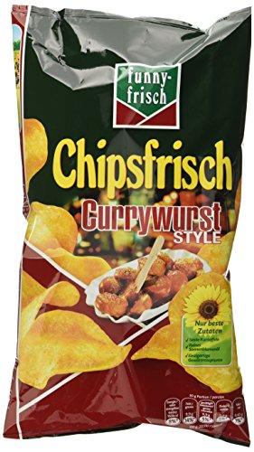 funny-frisch Chipsfrisch Currywurst Style, 10er Pack (10 x 175 g)