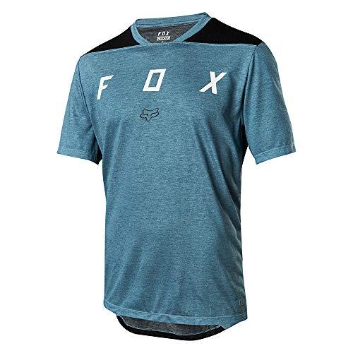 Fox Indicator SS Mash Camo Jersey, Blue, Taille XL