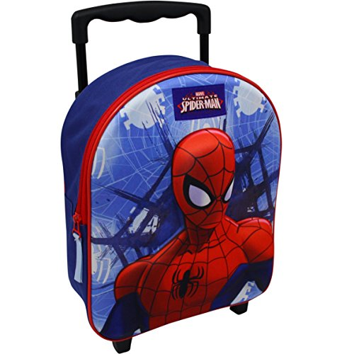 Marvel Spiderman Trolley Sac à Dos à Sac Valise...