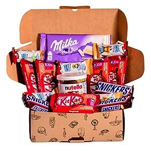 Caja regalo de bombones y