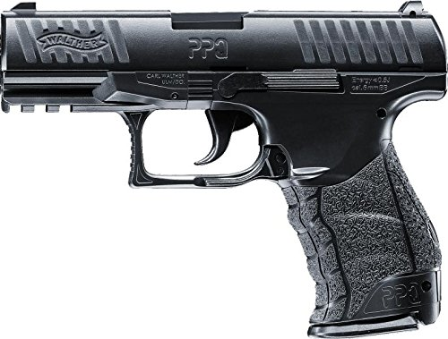(Walther PPQ Pistole Softair mit Metallschlitten < 0,5 Joule - Absolute Neuheit)