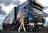 Poster Erotisches LKW Poster - Scania Truck - Jens Bode 70 x 100 cm
