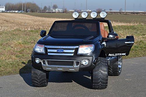 Ford Ranger Kinderauto Vollausstattung Modell 2017 Elektroauto mit R/C und hier mit großem 12V/10Ah Akku 2 Motoren Original Lizenz Kinderfahrzeug