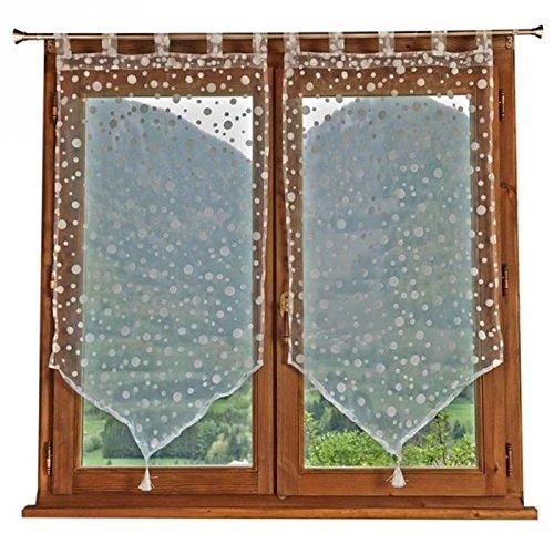 vitrages-2-rideaux-a-pois-60x120cm-blanc