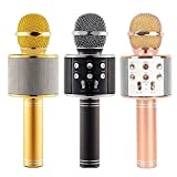 Tygot 858 Handheld Wireless Microphone With Bluetooth Speaker For All IOS/Android Smartphones