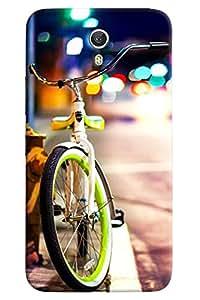 Omnam Cycle In City Printed Back Cover Case For Lenovo Zuk Z1