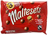 Maltesers Fairtrade Chocolate Balls, 111 g - Pack of 8