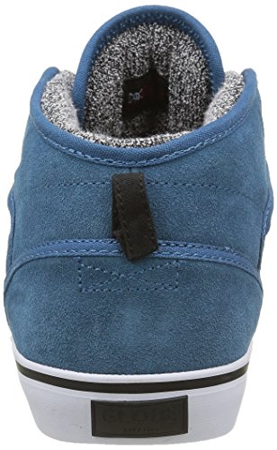 Globe Motley Mid, Baskets Basses Homme Bleu - Blau (Sea Blue/White)
