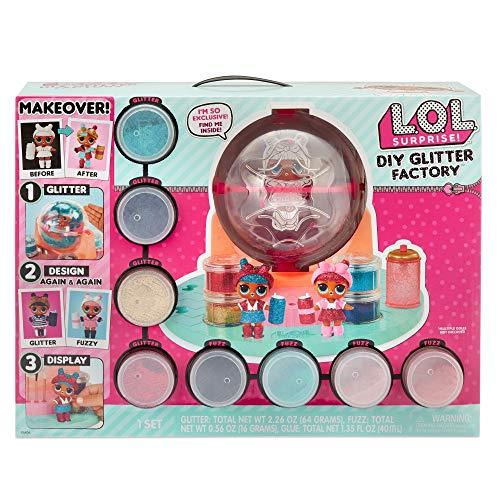 Giochi preziosi lol glitter station playset che permette di cambiare stile alla tua lol