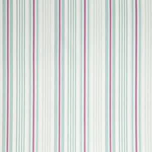 iLiv Tissu unisexe en 100% coton vendu au mètre Idéal pour la confection de rideaux/stores romains/nids d'ange/housses de coussin/tissus d'ameublement pour le salon/la chambre/la cuisine/la crèche Motif à rayures Beechwood Bleu/rose