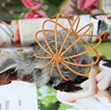 sevenmye Katze spielen Spielzeug Falsche Maus in Rattenkäfig Ball Spielzeug für Haustier Katze Kätzchen - 3