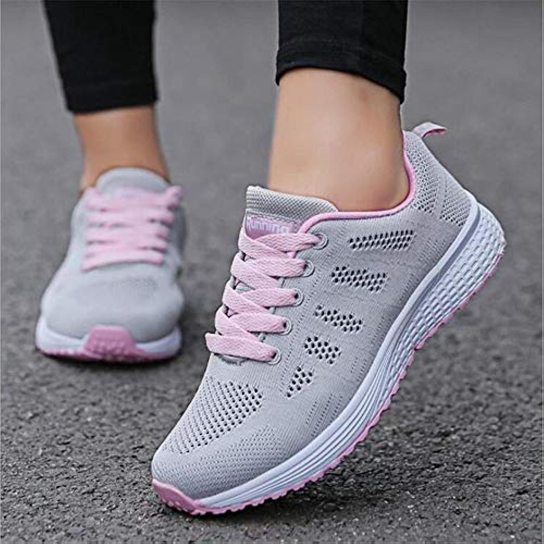 YSFU scarpe da ginnastica Scarpe Scarpe Scarpe Casual da Donna Traspiranti Scarpe da Passeggio con Lacci in Rete scarpe da ginnastica Leggerissime, 36 | Buy Speciale  | Uomini/Donne Scarpa  c990ea