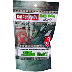 KALASHNIKOV Billes biodégradable Sac de 3200 BB's/C20 0,25 g