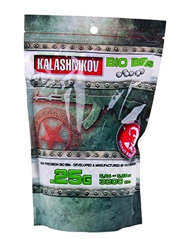 Kalashnikov Billes biodégradable Sac de 3200 BB's/C20 0,25 g