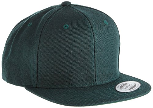 Flexfit Yupoong Classic Snapback, Farbe spruce, Größe one size
