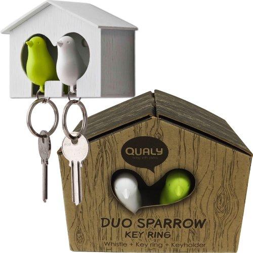 duo-sparrow-bird-house-keyrings-gw