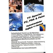 TrueTerm Fachwörterbuch Technik/Büro/Kommunikation/Automobilindustrie, Special PC, PDA & Palm, CD-ROM Für Windows 98/NT/2000/Me/XP, PDA, Palm OS
