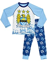 Manchester City Boys Manchester City Pyjamas Ages 5 To 13 Years