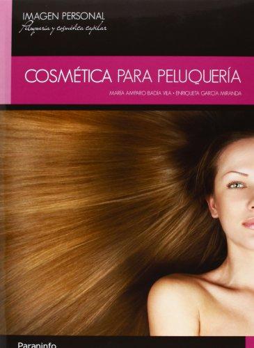 Cosmética para peluquería por MARIA AMPARO BADIA VILA
