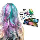 Shop Story–Pack de 24tizas para el pelo–Coloración temporal sin tinte y no tóxicas–24colores