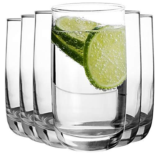 Luminarc - Wassergläser Longdrinkgläser | 6-teiliges Set | 330 ml | spülmaschinenfest | Hochwertige Qualität | Trinkgläser | Universalglas | Kratz- und schlagfest