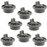 Set de 8 ruedecillas First4Spares para lavavajillas compatibles con Bosch, Neff y Siemens