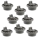 First4spares Set de 8 ruedecillas lavavajillas compatibles con Bosch, Neff y...