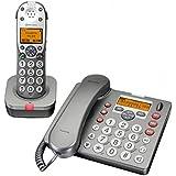 Amplicomms PowerTel 880Combo teléfono amplificado (+ 40dB)