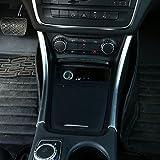 Strisce (2 pezzi) decorative per console centrale auto, in ABS, argento opaco, A CLA GLA classe W117W176A180,accessori auto