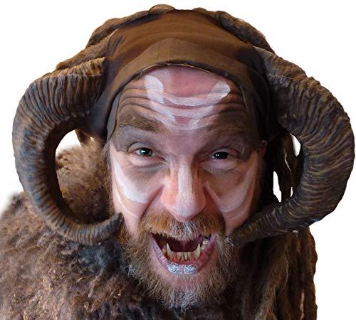 Kostüm Fantasy Elfen - Maskworld Widder Hörner aus Latex - Krampus Hörner