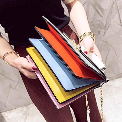 Pu Leather Handbag, Fashion Women Handbag Shoulder Bag Messenger Large Tote Leather Ladies Purse by Kangrunmy Nero