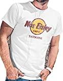 LeRage Shirts Herren T-Shirt Star Wars Mos Eisley Cafe Tatooine XL weiß