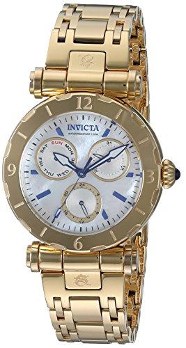 INVICTA Women's SUBAQUA Gold-Tone Steel Bracelet & CASE Quartz Watch 24428