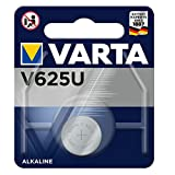 Varta 12501625 Alkaline Knopfzelle (V625U, 1er Pack) blau