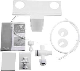 WC Bidet Frischwasser Sprühdüse Toilettensitz Befestigung Handbedienung Nicht Elektrisches Badezimmer Shattaf Kit