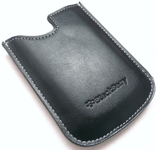 Blackberry Handytasche geeignet für Blackberry 8300, 8310, 8320, 8520 Curve, 8900 Curve, 9300 Curve 3G, 9330, 9700 Bold, 9780 Bold, 9800 Torch, 9650 Bold, 9500 Storm, 9530 Storm, 9520 Storm2, 9550 Storm2, 9630, Originalteil
