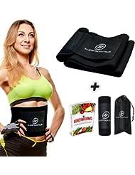 La Ceinture De Sudation pour le ventre: Premium Haute Qualité pour la ceinture gainante pour homme & Femme/– Jogging/Fitness/Cyclisme/boîtes usw